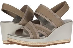 Kaiteri Wedge Strap (Brindle) Women's Wedge Shoes