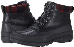 Cold Bay Chukka (Black/Buff Check) Men's Cold Weather Boots