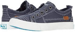 Play (Blue Tuna Smoked Canvas) Women's Lace up casual Shoes