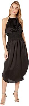 Bishop + Young Alessandra Smock Dress (Black) Women's Dress