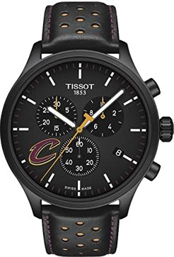 Chrono XL NBA Chronograph Cleveland Cavaliers - T1166173605101 (Black/Yellow/Black) Watches