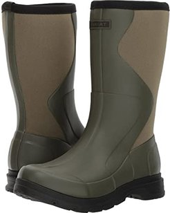 Springfield Rubber Boot (Olive Green) Women's Waterproof Boots