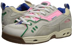 CT-IV Classic (Silver Birch Hairy Suede/Pink Nubuck/Gum) Skate Shoes