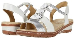 Helaine (White/Silver) Women's Shoes