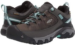 Targhee III Waterproof (Alcatraz/Blue Turquoise) Women's Shoes