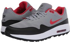 Air Max 1G (Particle Grey/University Red/Black/White) Men's Golf Shoes
