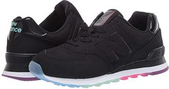 574 Outer Glow (Black/Neo Mint) Women's Shoes