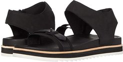 Juno Mid Zip (Black) Women's Shoes