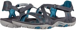 Sandspur Rose Leather (Granite/Dragonfly) Women's Shoes