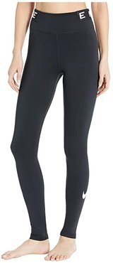 One Tights Icon Clash (Black/Black/White) Women's Casual Pants