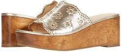 Rory Wedge (Platinum) Women's Shoes