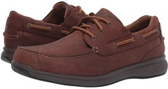 Bayside Steel Toe Lace-Up (Brown) Men's Work Boots