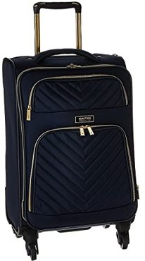 Chelsea - 20 Quilted Expandable 4-Wheel Upright Carry On (Navy) Luggage