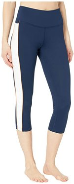 Greenlight Capris (Navy/White/Nectar) Women's Capri