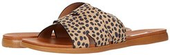 Verse Flat Sandals (Cheetah) Women's Shoes
