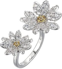 Eternal Flower Open Ring (CZ White) Ring