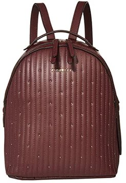 Anouk Backpack (Oxblood Quilt) Backpack Bags