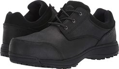 Sutton Oxford Steel Toe (Black) Men's Shoes