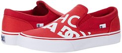 Trase Slip-On SP (Red/Red/White) Skate Shoes