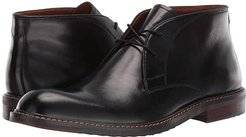 Bustur Chukka Boot (Black Leather) Men's Shoes
