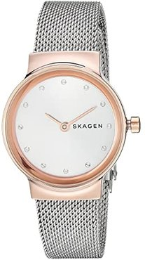 Freja - SKW2716 (SKW2716 Rose Gold Silver Stainless Steel Mesh) Watches