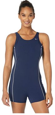 Shorty Tank Top (Navy) Women's Swimwear