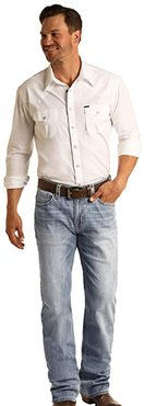 Reflex Double Barrel Relax Fit Straight in Light Wash M0S5801 (Light Wash) Men's Jeans