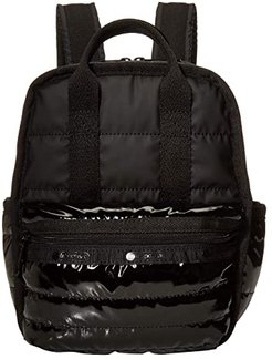 Gabrielle Micro Backpack (Black Patent) Backpack Bags