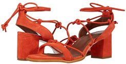 Sophie Heeled Sandals (Cantaloupe) Women's Shoes