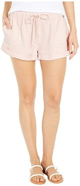 Sunday Strut Shorts (Hazey Pink) Women's Shorts