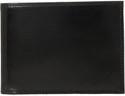 Old Leather Collection - Credit Wallet w/ ID Passcase (Black Leather) Bi-fold Wallet