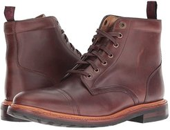Foundry Cap Toe Lace-Up Boot (Brown Horween) Men's Lace-up Boots