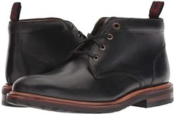 Foundry Plain Toe Chukka Boot (Black Horween) Men's Lace-up Boots