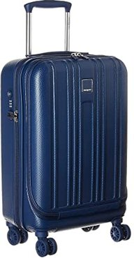 Boarding Small 20 Spinner with Computer Compartment (Navy Peony) Luggage