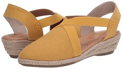 Nissa (Yellow Canvas) Women's Shoes