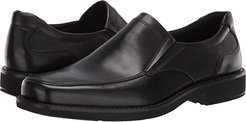 Seattle Slip-On (Black) Men's Slip-on Dress Shoes
