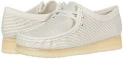 Wallabee (Off-White Textile) Women's Lace up casual Shoes