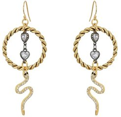 The Medusa Earrings (Gold) Earring