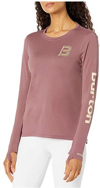 Multipath Long Sleeve T-Shirt (Rose Brown) Women's Clothing