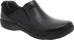 Neci (Black Leather) Women's Shoes