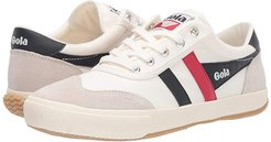 Badminton (Off-White/Navy/Red) Women's Shoes