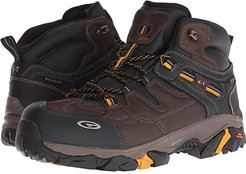 X-T Forge Elite Mid WP360 Composite Toe (Chocolate/Core Gold) Men's Work Boots