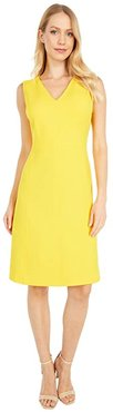 Aymeline Sleeveless Day Dress (Summer Lemon) Women's Dress
