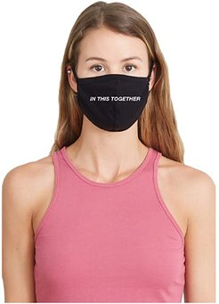 In This Together Face Mask (Black) Caps