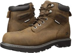 Floorhand Steel Toe Puncture Resistant 6 Boot (Summer Brown) Men's Work Lace-up Boots