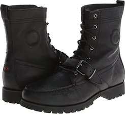 Ranger (Black Pull Up Grain Leather) Men's Lace-up Boots