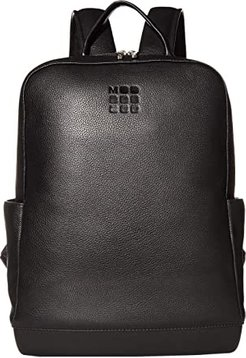 Classic Leather Backpack (Black) Backpack Bags