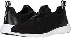 Zerogrand Global Trainer (Black Knit/Optic White) Women's Shoes