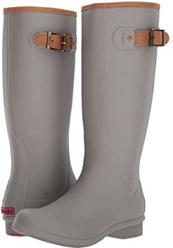 City Solid Tall Boot (Stone) Women's Rain Boots
