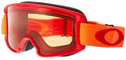Line Miner (Youth) (Red Neon Orange/Prizm Snow Persimmon) Snow Goggles
